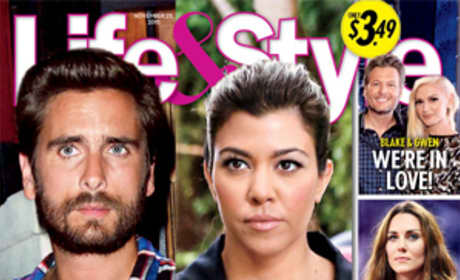 Disick and Kourtney Life & Style Cover
