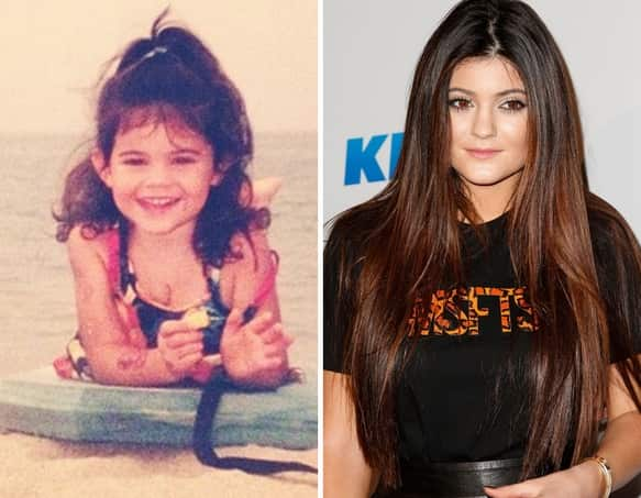 Kylie Jenner as a Kid