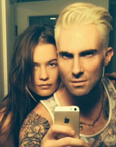 Adam Levine Blonde Hair
