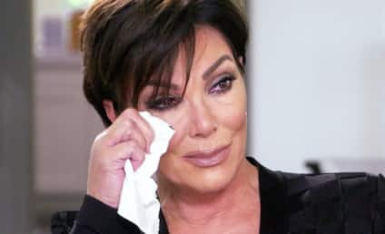 Kris Jenner Bursts Into Tears, Walks Out of Interview