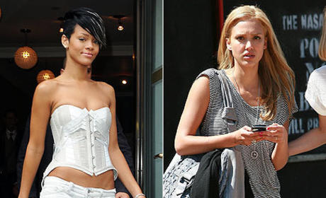 Who looked better, Rihanna or Jessica Alba?