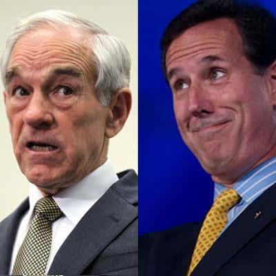 Paul and Santorum