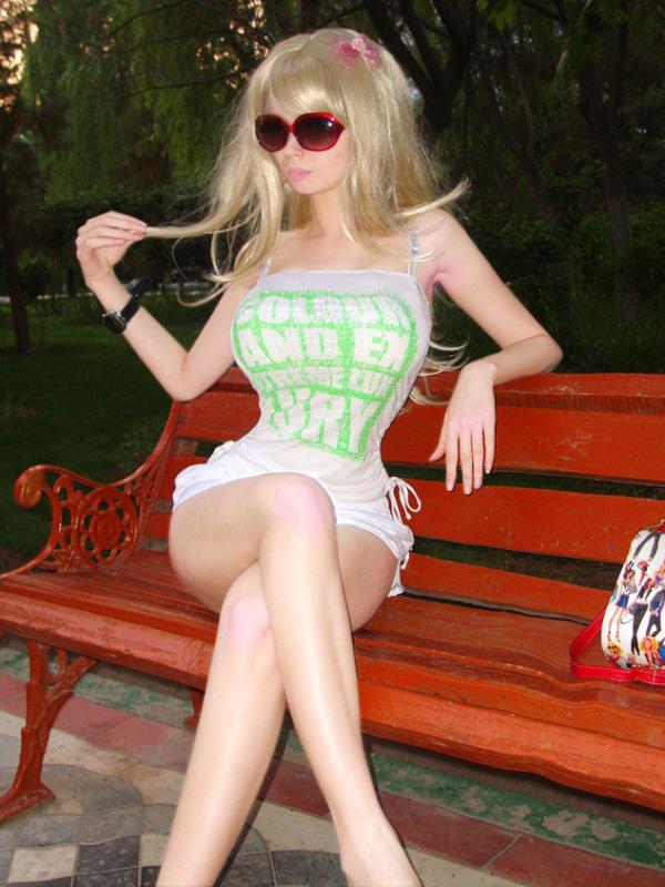 Teenage Human Barbie