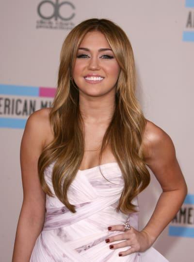 Miley in White