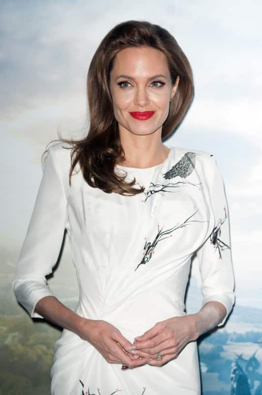 Angelina Jolie Collects Daggers!