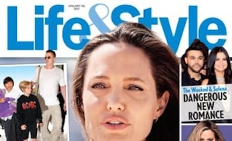 Angelina Jolie Tabloid Cover