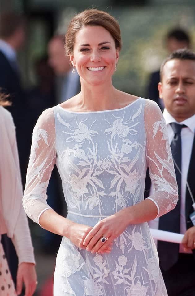 Kate Middleton Smiling Photo