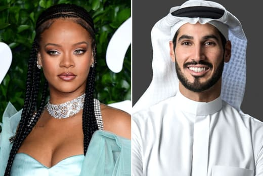 Rihanna and Hassan Jameel: It's OVER!
