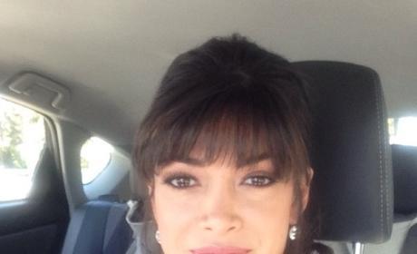Nicole Johnson Car Selfie