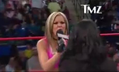 Angelina Pivarnick on TNA Wrestling