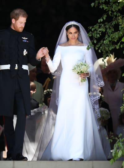 Royal wedding dress debate who wore it better the hollywood gossip markle wedding dress junglespirit Images