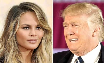 Chrissy Teigen Taunts Donald Trump: No Celebrities Like You!