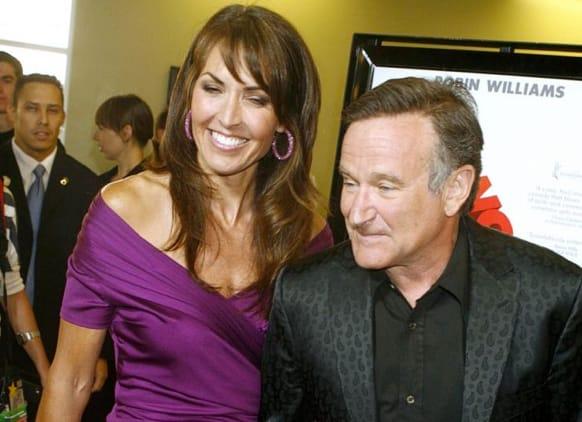 Susan Schneider, Robin Williams