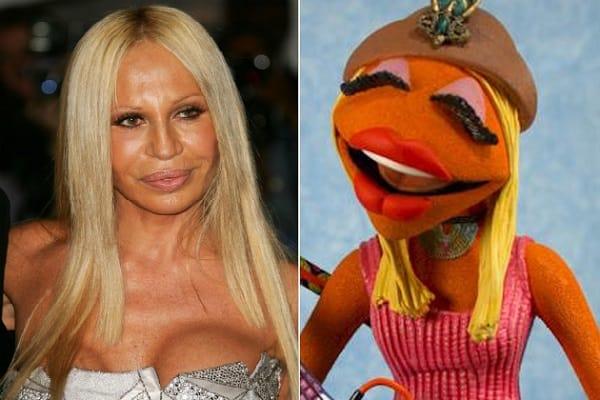 Donatella Versace Muppet