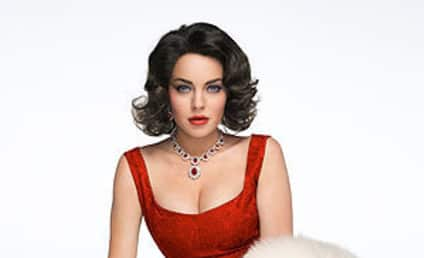 Lindsay Lohan as Elizabeth Taylor: A Train Wreck Becomes an Icon