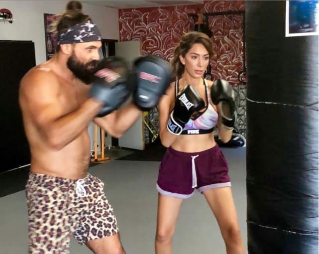 Farrah the boxer