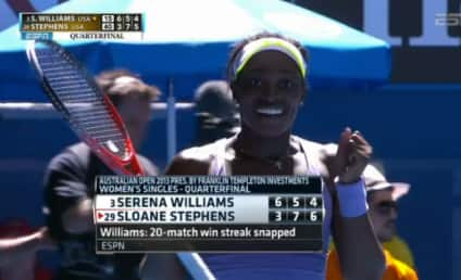 Sloane Stephens Shocks Serena Williams, Moves on to Australian Open Semifinals