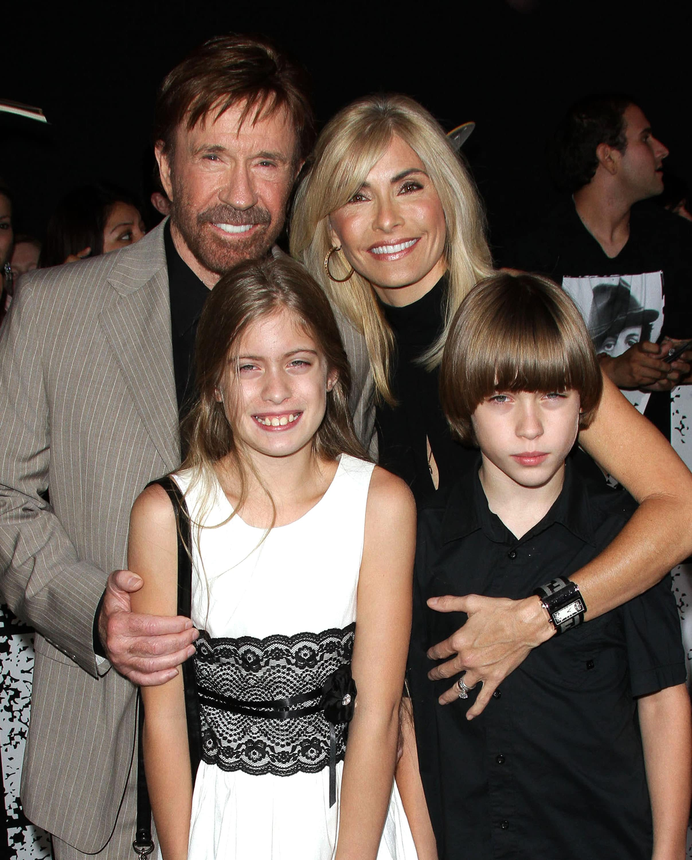 Image result for Chuck Norris Wife