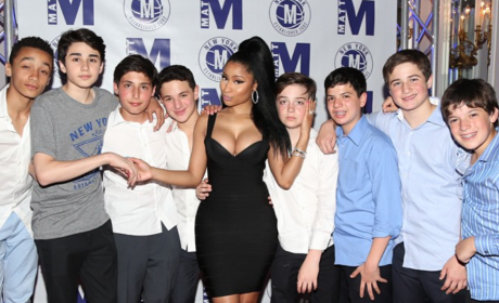 Nicki Minaj Bar Mitzvah Photo