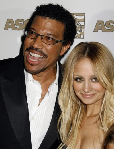 Lionel And Nicole Richie Photo