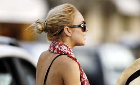 Lindsay Lohan, Ass
