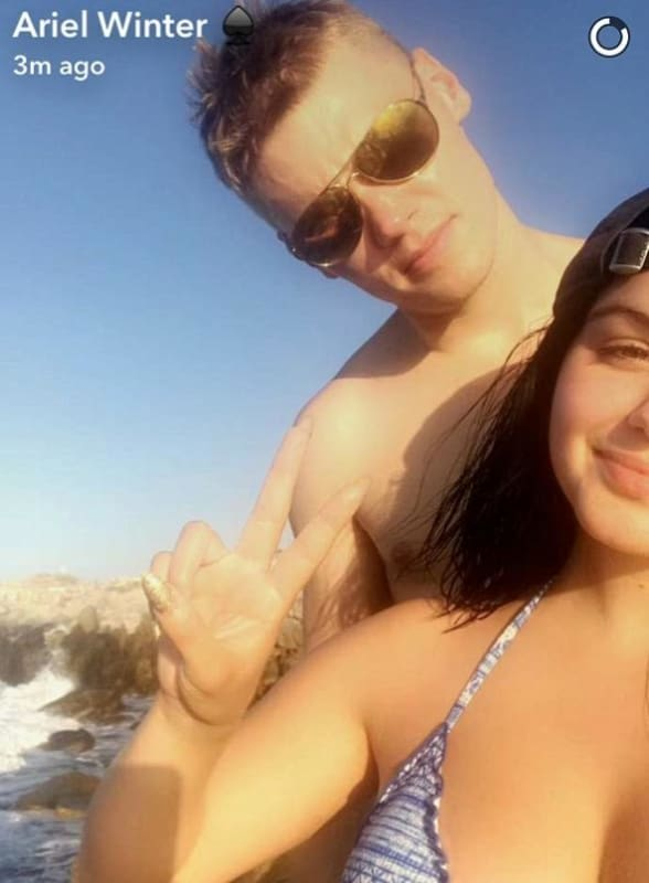 Ariel Winter: Bikini Selfie, Take 4 Million