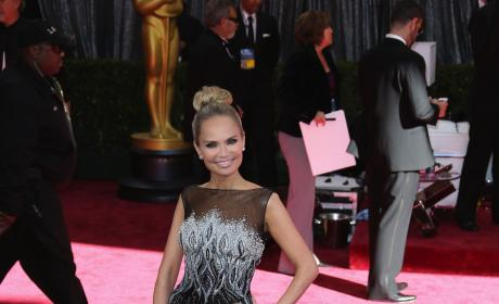 Kristin Chenoweth Oscars Dress
