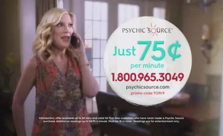 Tori Spelling: Psychic Source
