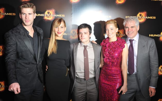 The Hunger Games Cast,...