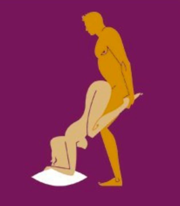 the wheel barrow position