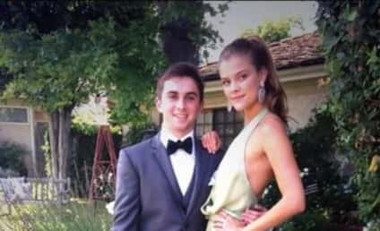 Nina Agdal Subs For Kate Upton, Goes to Prom With Jake Davidson