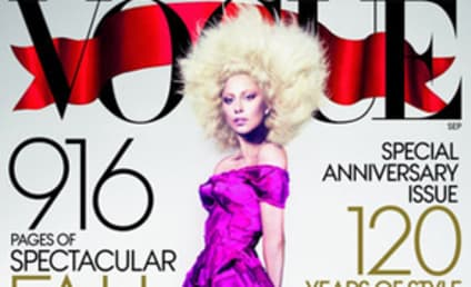 Lady Gaga Vogue Cover: FAB, Leaked By Singer!
