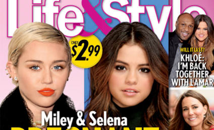 Selena Gomez and Miley Cyrus: Pregnant? By the Same Baby Daddy?!?