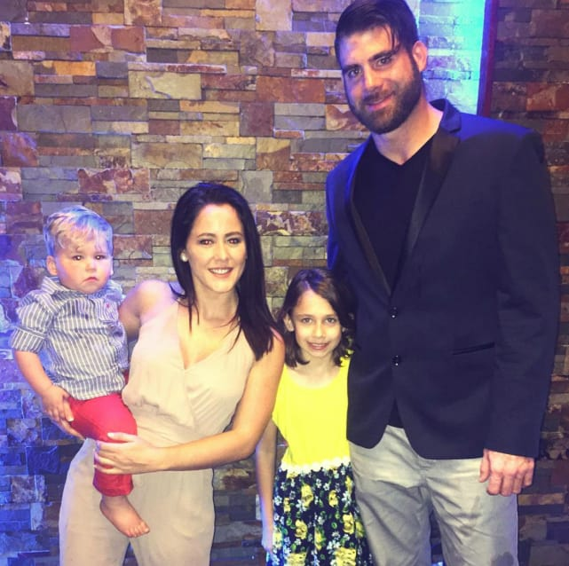 Jenelle evans david eason kids easter