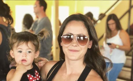 Jenelle and Ensley at Disney