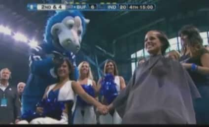 Colts Bald Cheerleaders: Heads Shaved to Support Coach Chuck Pagano