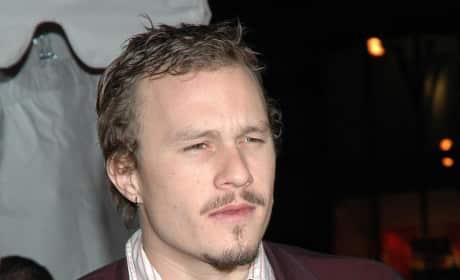 Heath Ledger Facial Hair