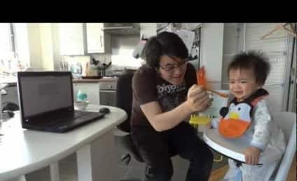 Baby Will Only Eat Gangnam Style