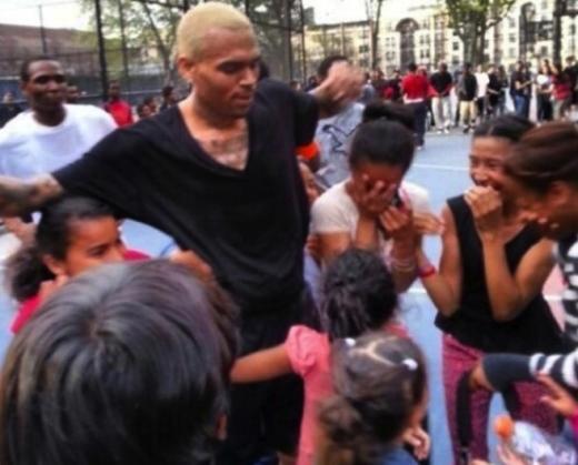 Chris Brown Twitter Pic