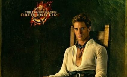 Sam Claflin as Finnick Odair: New Catching Fire Portrait
