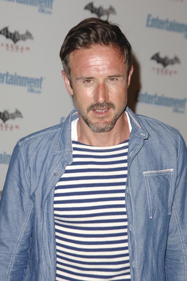 David Arquette at a Party