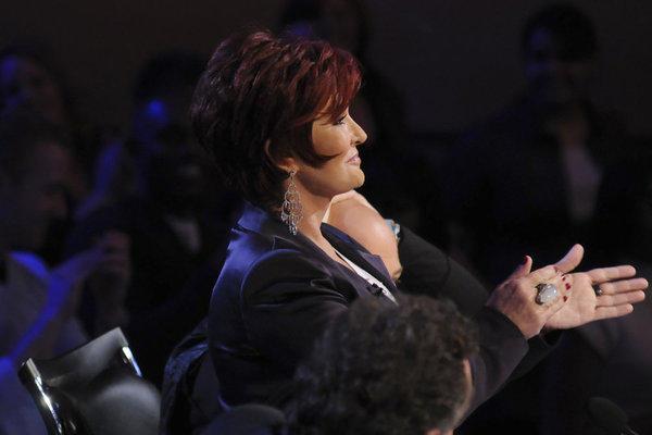 Sharon Osbourne as a Judge