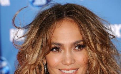 Jennifer Lopez at Idol Finale