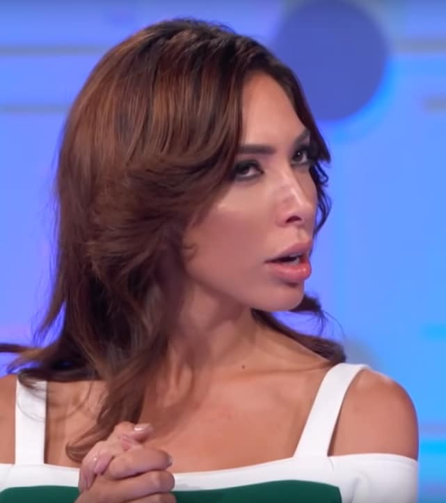 Farrah abraham rolls her eyes deep in thought
