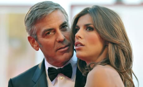 Clooney and Canalis