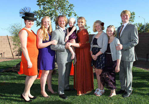Kody Brown and Sister Wives Photo