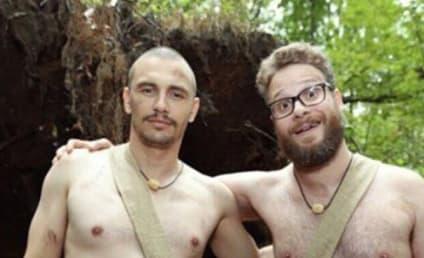 James Franco and Seth Rogen: Naked and Afraid on Instagram!