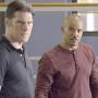 Shemar Moore and Thomas Gibson on Criminal Minds