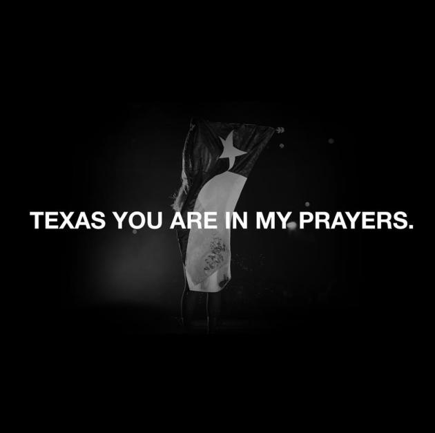 Beyonce Prays for Texas