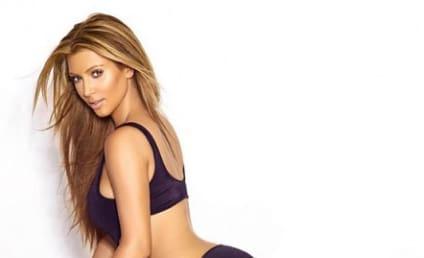Kim Kardashian Wears Bondage Boots, Slams Gluten